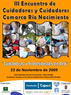 III ENCUENTRO DE CUIDADORAS Y CUIDADORES FAMILIARES DE LA COMARCA