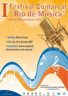 "I FESTIVAL ""RÍO DE MÚSICA"" DE LA COMARCA"