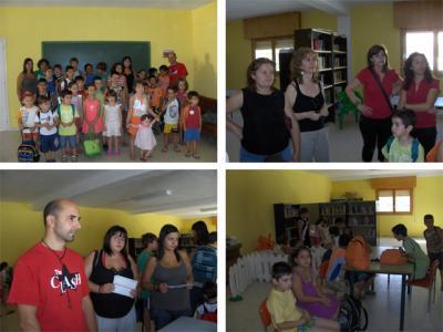 INAUGURACIÓN DEL AULA DE VERANO 2010 DE ABLA